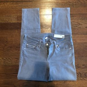 Rag n bone grey skinny jeans